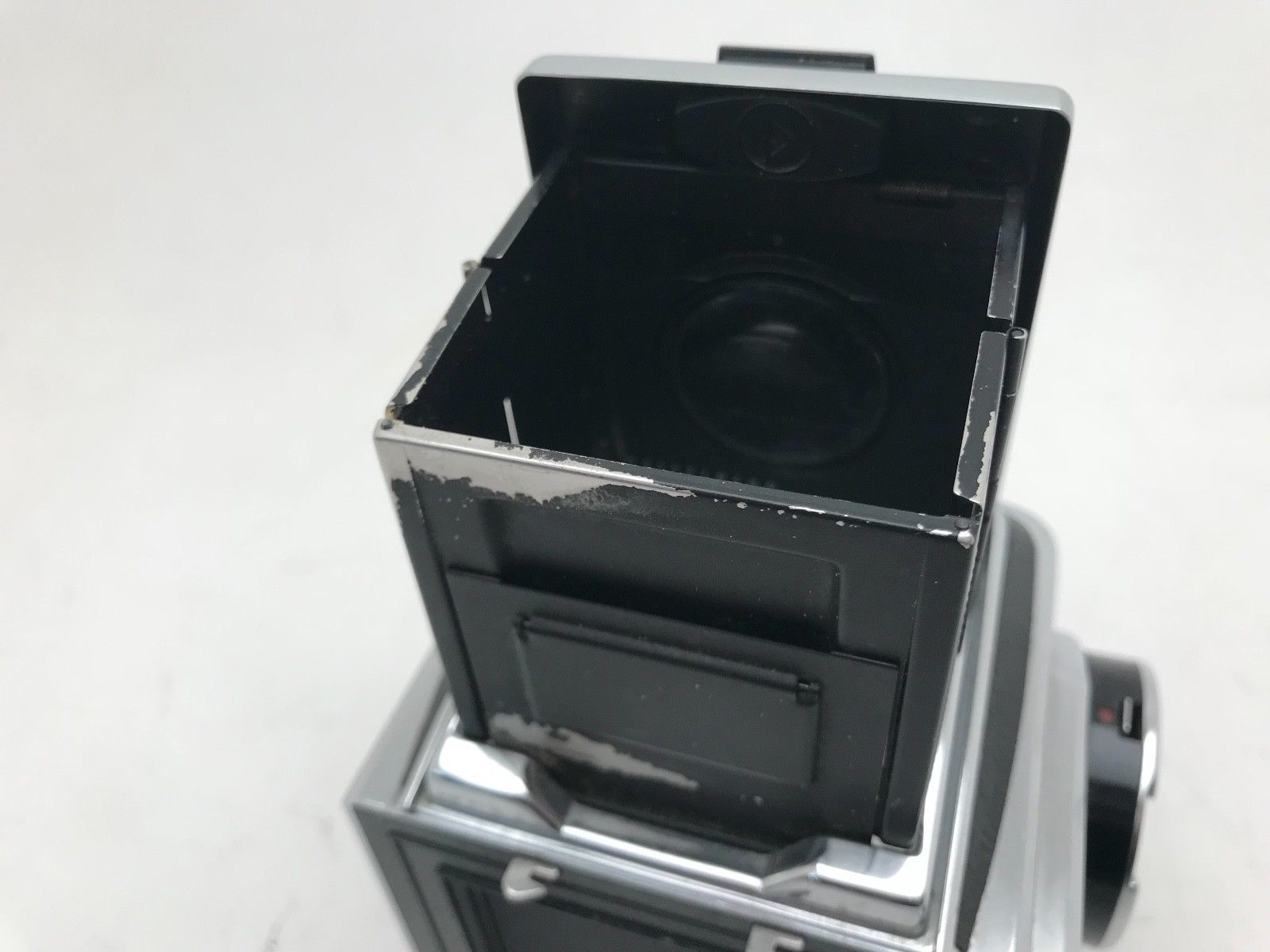 Hasselblad 500cm body with single action waist level Finder